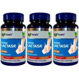 Kit 3 Enzima Lactase (intolerância A Lactose) 60 Caps 400mg