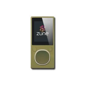 Microsoft - Zune 4 Gb * Reproductor De Mp3 - Verde