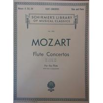 Partituras Flauta Y Piano Mozart Flute Concertos