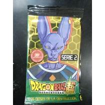 Lote X 25 Sobres De Trading Cards Dragon Ball