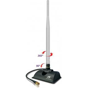 Antena Omni 5dbi Highbooster Gts 360º Amplie Seu Sinal Wifi