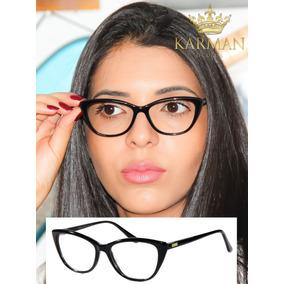 93e5b6812fe8b Armacao Oculos De Grau Fendi - Óculos no Mercado Livre Brasil