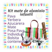 Kit Mate De Aluminio Infantil