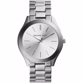Reloj Michael Kors Mk3178 Slim Runway Bracelet Para Mujer