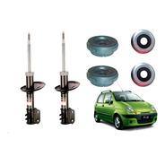 Kit 2 Amortiguadores Delanteros Spark 2 Con Cazoleta Y Crapo