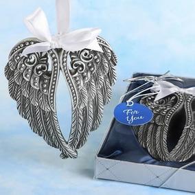 10 Alas Angel Decorativa Recuerdo Boda Despe Xv Baby Bautizo