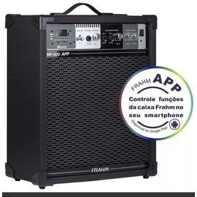 Caixa De Som Amplificada Usb Frahm Mf400 App Bluetooth Fm