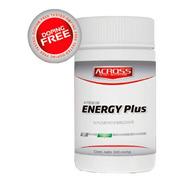 Suplementos Across - Energy Plus - Cafeina - 100 Comprimidos