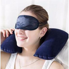 Almohada Inflable Para Cuello Para Viaje En Avión Coche