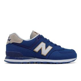 Tênis Casual New Balance 574 Masculino Azul