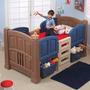 Cama Alta Y Almacenamiento De Juguetes Para Niños Step 2