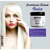 Cristalização Selante Violet Coiffer 500g+queratina Indiana