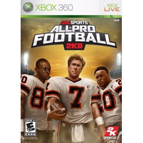 Nfl All Pro Football 2k8 Xbox 360