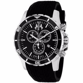 Reloj Jivago Ultimate Silicon Negro Mineral Hombre Jv0121