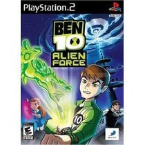Jogo Patch Ben 10 Alien Force Play2 Ps 2 Playstation 2 Game