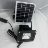 Reflector Solar Lampara Led Con Panel Solar