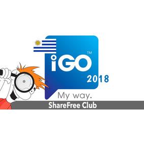 Mapa Uruguay 2018 P/ Igo Igo8 Primo Estereos Y Gps Chinos