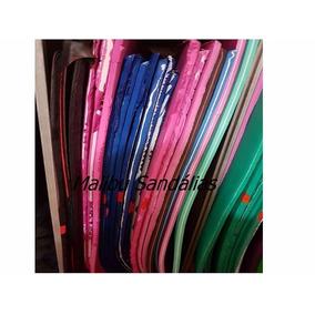 4 Placas De Borracha Microporosa Para Chinelos Bicolor