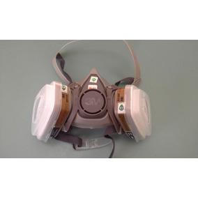 Respirador Mascara Pintura 3m 6200 6001 5n11 501 - Completa