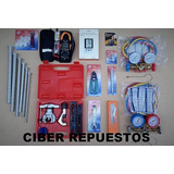 Kit Herramientas Refrigeracion N°9 + B. Vacio 70l/m Cooltech