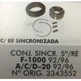 Sincronizador Compl 5ª E Ré F1000 92/96 Acd 92/96 Re 9385a