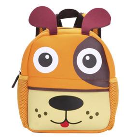 Mochila Escolar 3d En Forma De Perro Niño Kinder H6026