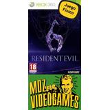 Resident Evil 6 - Xbox 360 - Físico - Mdz Videogames