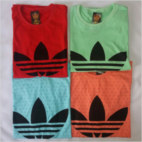 Camisa Camiseta adidas Kit 3 Blusas Masculinas + Brinde