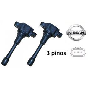 2 Bobinas Ignição Nissan Sentra Tiida Livina 1.8 / 2.0 16v