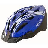 Casco De Bicicleta Mtb Ajustable Azul M / L