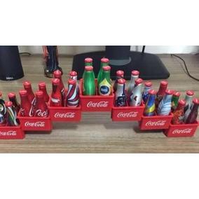 Coleção Garrafinhas Coca - Cola Completa (com Engradados)