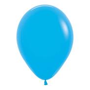 Bolsa Con 50 Globos Color Azul 5 Pulgadas