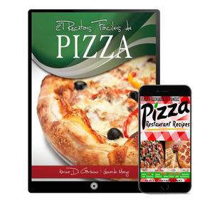 Pizza Recetas Para Pizzeria Coleccion 10 Libros - Digital