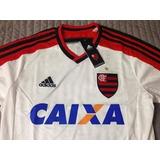 Camisa Flamengo 2014 Away Tam P E G Nova Com Etiqueta