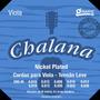 Encordoamento Viola Groove Chalana Tensão Leve Gchni