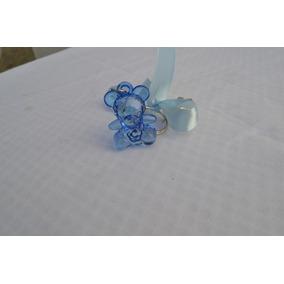 Chaveiros Lembrancinhas Maternidade-menino- Ursinho -niquel