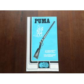 Manual Do Proprietário Original Carabina Rossi Puma 38