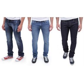 Kit 3 Calças Jeans Skinny Masculina As Mais Vendidas Do Site
