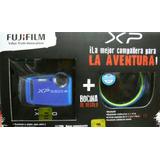 Camara Acuatica Fujifilm Xp120 Azul + Bocina Braven 105