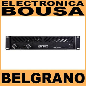 Potencia Crest Audio Cpx 1500 Watts Crossover Qsc Crown Sts