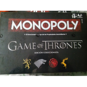 Monopoly Game Of Thrones En Español - Sellado