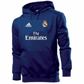 Blusa Moleton Real Madrid Futebol 100% Algod Rm 15