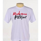 Camisa Camiseta Cantora Madonna Rebel Heart Logo