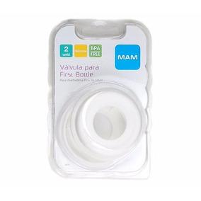Kit Válvula Silicone Mamadeira Com 2 Unidades - 6070 - Mam