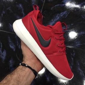 Tenis Zapatillas Nike Roshe Two Roja Hombre Mujer Env Gr