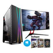 Pc Armada Gamer Amd Ryzen 5 2400 1tb 8gb Radeon Juego Regalo