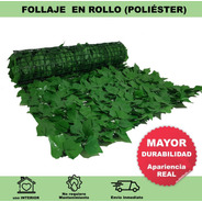 Rollo De Follaje Artificial Poliéster 3m²  Greenline Envio G