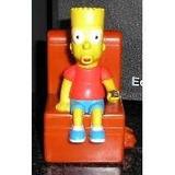 Bart Con Movimiento Muñeco Simpsons Burger King Sillon