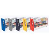 Balcão Refrigerado Premium Color Semi Curvo 1,00m Polo Frio
