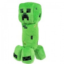 Peluche Minecraft Original Muñeco Creeper Geekend